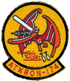 Second VA-174 (U.S. Navy) - VA-174 Insignia