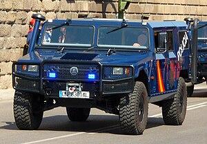 URO VAMTAC - URO VAMTAC of the Spanish National Police