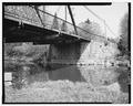 VIEW OF NORTH ABUTMENT - Grand Avenue Bridge, Spanning O'Neil Creek at Grand Avenue, Neillsville, Clark County, WI HAER WIS,10-NEIL,2-6.tif