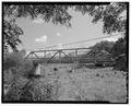 VIEW TO NORTHEAST - Coal Creek Bridge, Spanning Coal Creek at State Route 97, Fairview, Fulton County, IL HAER ILL, 29-FAIR. V, 1-3.tif