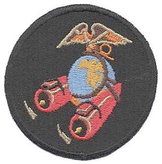 VMGR-352 - Official squadron logo during WWII when they were VMJ/VMR-352