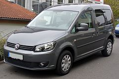 VW Caddy po face liftingu