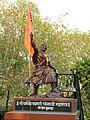 Vadhu Tulapur - Statue of Sambhaji Maharaja.JPG