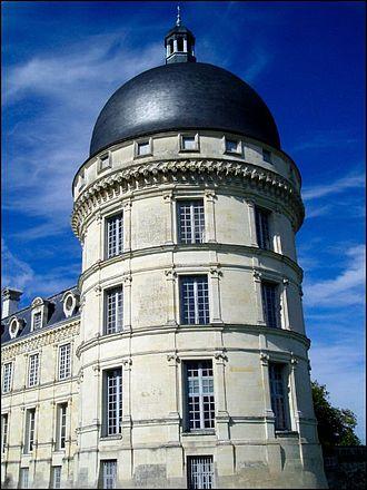 Château de Valençay - Angle tower of the Château de Valençay