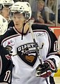 Vancouver Giants forward James Wright, April 2009.jpg