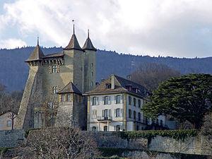 Vaumarcus - Vaumarcus Castle