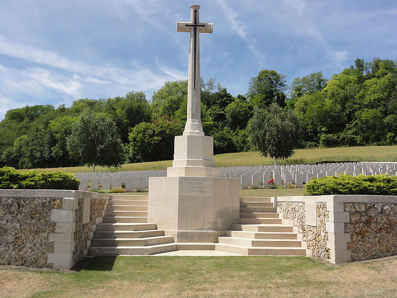 Vendresse-Beaulne (Aisne) CWGC Vendresse British cemetery