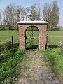 Venray Blitterswijck, kloosterpoortje van in WO-2 verwoest klooster.JPG