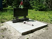 Verbycne Turiyskyi Volynska-brotherly grave of 9 warriors of UPA.jpg