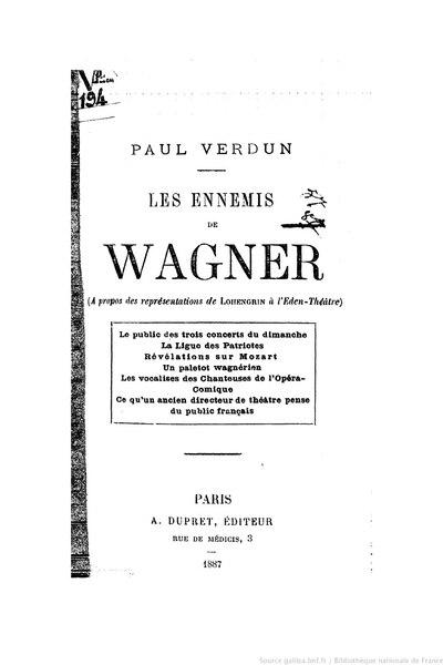File:Verdun - Les Ennemis de Wagner, 1887.djvu