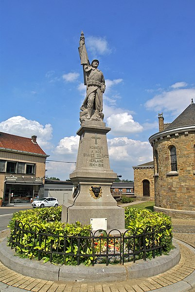 Verlaine,  Belgium: War Memorial