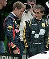 Vettel and Prost - Goodwood 2012.jpg