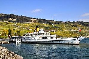 Compagnie Générale de Navigation sur le lac Léman - Vevey