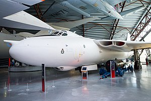 British hydrogen bomb programme - Vickers Valiant XD818 at the RAF Museum Cosford  was the aircraft that dropped the bomb in the Grapple 1 test in May 1957.
