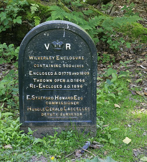 Victorian cast iron history of Wilverley Inclosure - geograph.org.uk - 182238