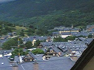 Vielha e Mijaran - View from the hotel Vielha.