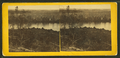 View, from near Howlett's, of Dutch Gap Peninsula, showing James River on each side of the neck of land, by William Frank Browne.png