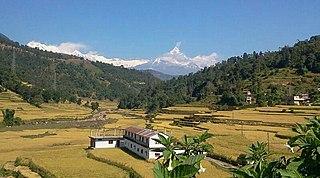 Phedikhola Gaupalika in Gandaki Pradesh, Nepal