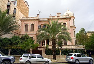 Villa Rose, built in 1928 during the period of the French mandate Villa Rose, Aleppo.jpg