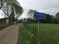 Village sign of Eyserheide, Netherlands 1.JPG