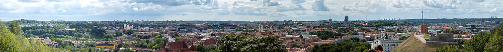 Vilnius - view from Hill of Three Crosses