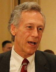Virgil Goode answering questions. (cropped)