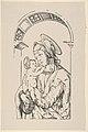 Virgin and Child Under an Arch, from Holzschnitte alter Meister gedruckt von den Originalstöcken der Sammlung Derschau im besitz des Staatlichen Kupferstich-kabinetts zu Berlin MET DP834030.jpg