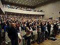 Vista xeral asistentes, canto himno galego, XV Asemblea Nacional Bloque Nacionalista Galego 38.jpg