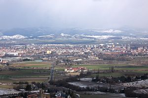 View on Vitoria, Spain