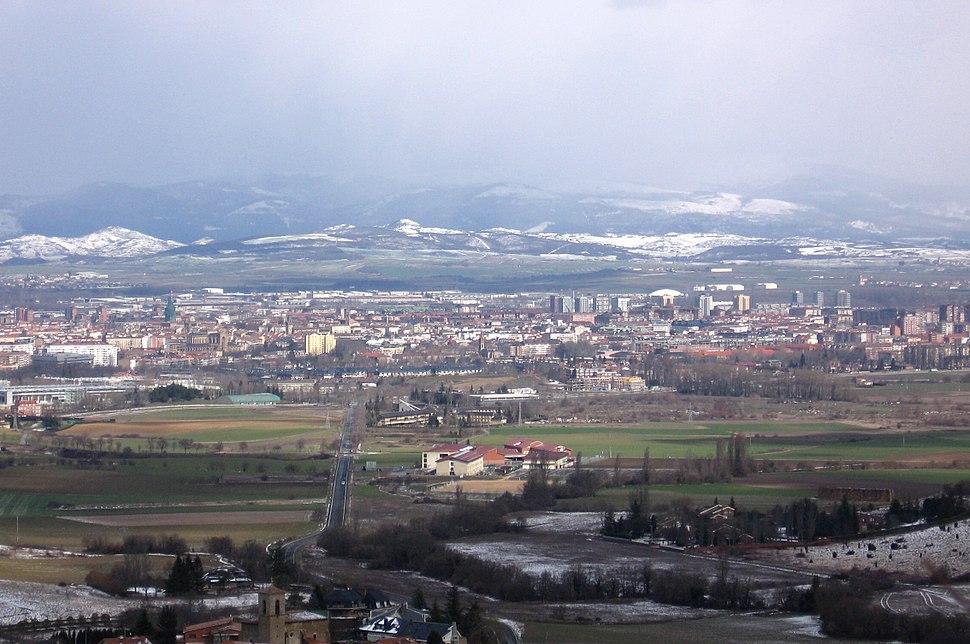 Vitoria vista desde Berrosteguieta