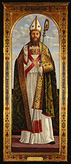 A Bishop Saint Blessing
