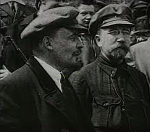 Greek fisherman's cap - Lenin wearing his signature cap, 1920s