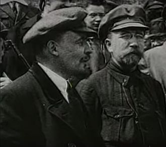 Greek fisherman's cap - Lenin wearing his signature cap, 1920s