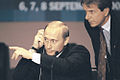 Vladimir Putin at the Millennium Summit 6-8 September 2000-4.jpg