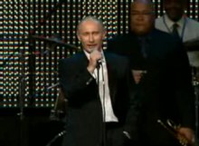 Archivo:Vladimir Putin singing Blueberry Hill.ogv