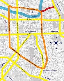 Улицы челябинска схема