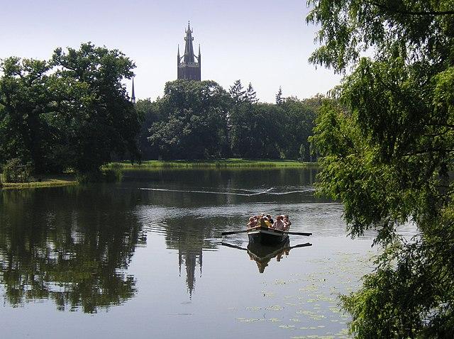 El Reino de los Jardines de Dessau-Wörlitz, Alemania