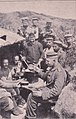 Württ. RIR, Mittagessen in der Bereitschaftstellung, Anfang 1917.jpg