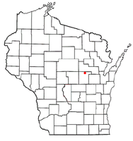 Location of Dupont, Wisconsin