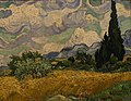 WLA metmuseum Vincent van Gogh Wheat Field with Cypresses.jpg