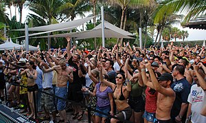 Beatport Pool Party at the Winter Music Confer...