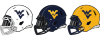 WVU Football Helmets.png