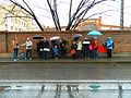 Waiting for a tram (17266494076).jpg