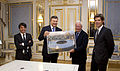 Walid Harfouch with Ukrainian President Viktor Yanukovych, Pier Luigi Malesani.jpg