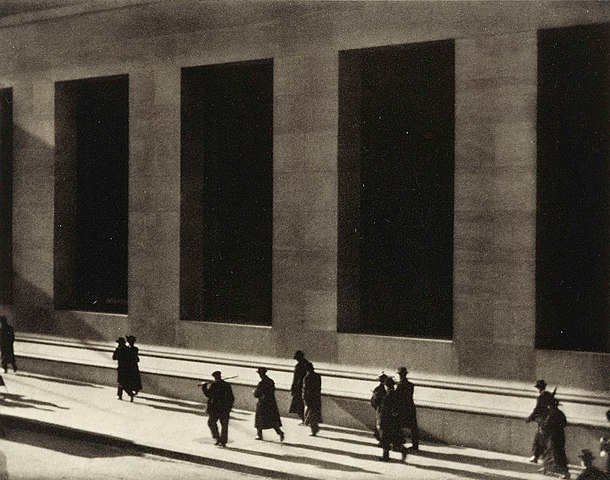 File Wall Street By Paul Strand 1915 Jpg Wikimedia Commons
