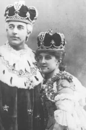 Wallace Brownlow - With Decima Moore as Luiz and Casilda in The Gondoliers
