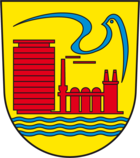 Coat of arms of the city of Eisenhüttenstadt