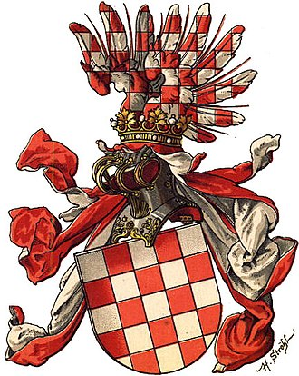 Coat of arms of Croatia - Image: Wappen Königreich Croatien