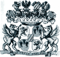 Wappen der Freiherren von Bach 1854.png