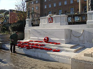 Norwich War Memorial - The memorial in 2004